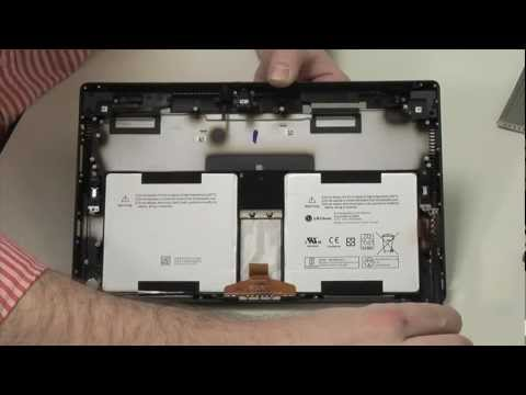 The Microsoft Surface Pro - Cracking Open