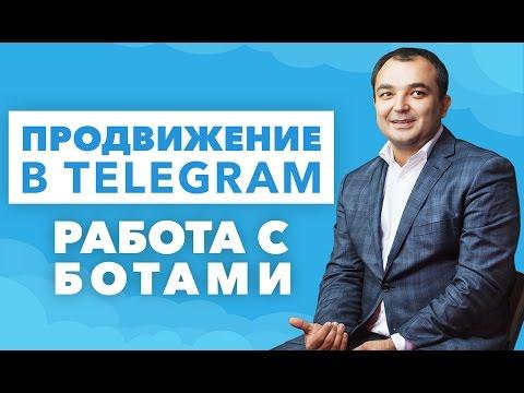 Продвижение в Telegram. Работа с ботами в Telegram.