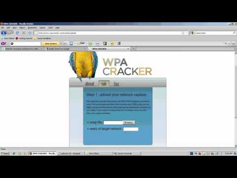 crack WPA passwords Wifi hack .avi