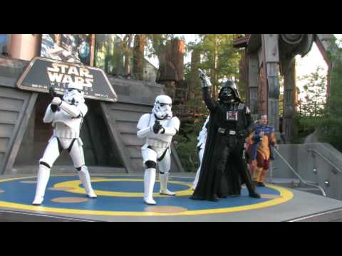 Dance Off with the Star Wars Stars 2010 (Part 1)