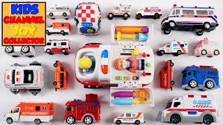 Ambulance Video For Children Toddlers Babies | Learn Ambulance for Kids | Emergency Vehicles
