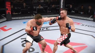 Roy Nelson vs. Mirko Cro Cop (EA sports UFC 2) - CPU vs. CPU