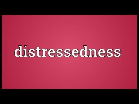 Header of distressedness