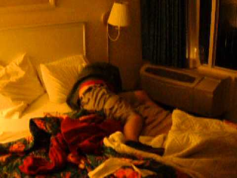 DRUNK MILLER IS LOOSE IN HOTEL ROOM FUNNY FLIP INSTANT SLEEP HOTEL GYMNASTICS