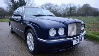 BENTLEY ARNAGE R RED LABEL TWIN HEADLAMP FACELIFT VIDEO REVIEW