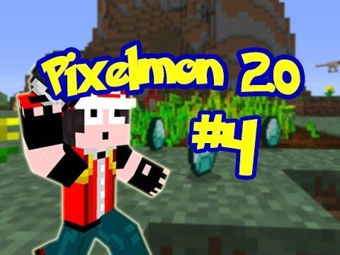 Minecraft: Pixelmon 2.0 - Episode 4 - Diamond Farming (Pokemon Mod)