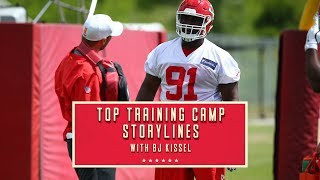 Top Training Camp Storylines: Second-Year DT Derrick Nnadi's Development is Something to Watch