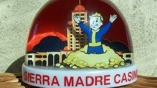 Fallout: New Vegas - SNOW GLOBE - Sierra Madre Casino (LOCATION)