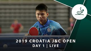 2019 ITTF Junior Circuit Golden, Croatia Junior & Cadet Open - Day 1 (Session 2)