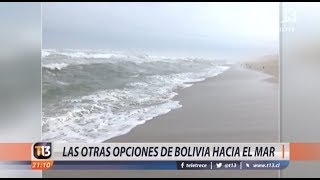 Las otra opciones de Bolivia para salir al mar