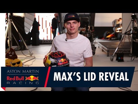 Max Verstappen discusses his helmet design for 2018