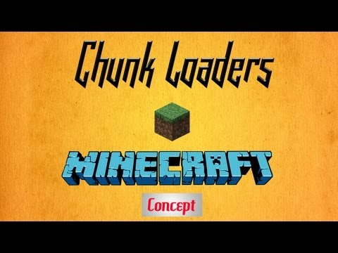 Minecraft - Vanilla Chunk Loaders