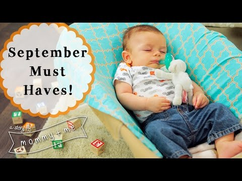 September Baby Product Haul!   A Story of Mommy and Me