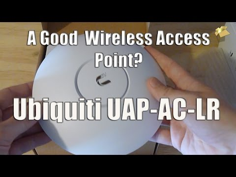 Ubiquiti Wireless Access Point - Unboxing and Review + Install
