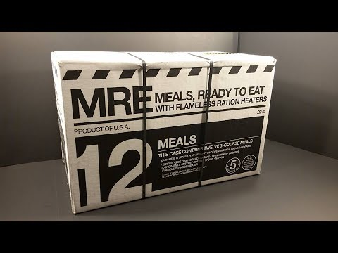 2017 Meal Kit Supply MRE Review Meal Ready To Eat Best Civilian Meal Ready to Eat Taste Test