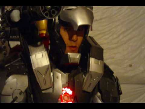 War Machine Iron Man 2 cosplay upgrades V3.5
