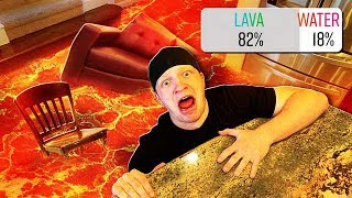 FLOOR IS LAVA CHALLENGE! (YOU DECIDE!)