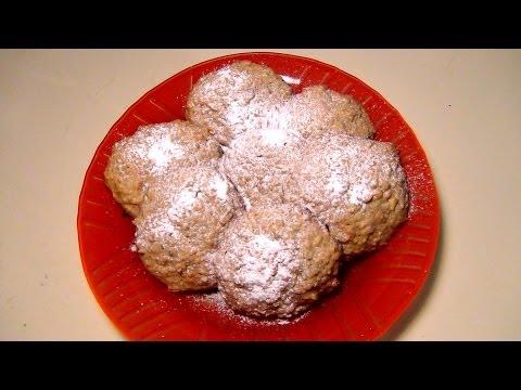 Овсяно-Медовые Печенья с Приправами