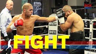 Leo Stein vs Giorgi Arabuli - 4 rounds light heavyweight - 15.09.2018 - EC Boxing Gym Hamburg