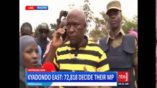 Kyadondo East By-election: Tampers High at Magere Polling Station