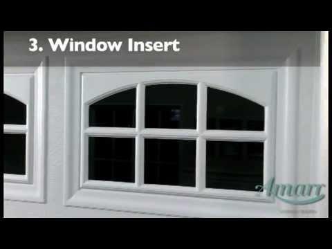 Glass window garage door glass window for Wayne dalton window insert