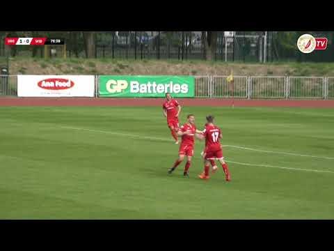 Ursus Warszawa - Widzew Łódź 2:1 (1:0) - Skrót Meczu