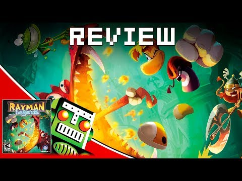 Rayman Legends REVIEW!