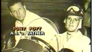 Auto Racing   1987    Indy 500 Special Feature   Jack Arute Profiles The Story Of Driver A J Foyt +