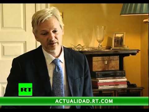 Entrevista con Julian Assange, fundador y editor de la página web WikiLeaks