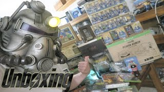 FALLOUT 76 POWER ARMOR EDITION & PIPBOY 2000 REPLICA UNBOXING & COLLECTION