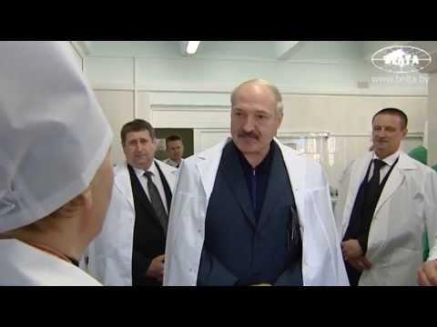 """Лукашенко посетил производственный участок ОАО """"Молочные продукты"""" в Хойниках"""