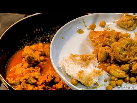 Chicken curry in a hurry - No hot spices