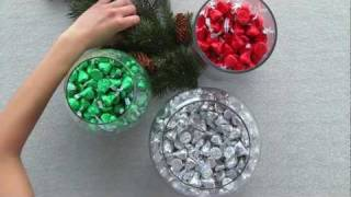 HERSHEY'S - Holiday Craft - Holiday Centerpieces