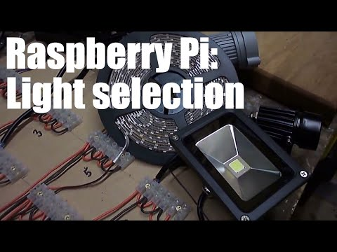 Raspberry Pi: Automated Lighting Control - The Light selection