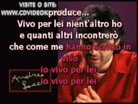Andrea Bocelli & Giorgia   Vivo Per Lei