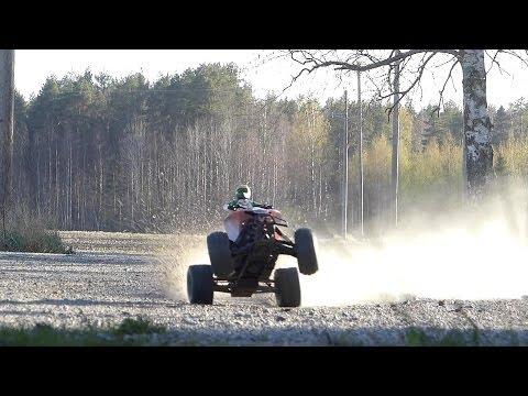 HPI Savage Flux ATV Wheelies & Jumping Action