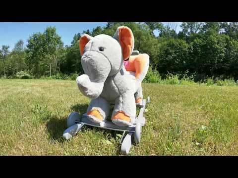Hintajáték kerekekkel PlayTo elefánt