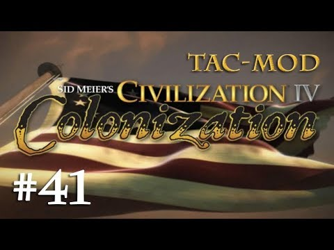 Lets Play Civ 4 Colonization (TAC) #41: Grenzverschiebungen - Nouvelle-France (Deutsch)