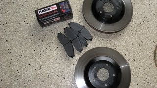 Corvette brake job rotors and pads front by froggy c5 2004