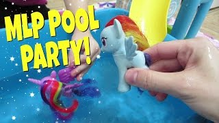 MY LITTLE PONY POOL PARTY! Ep 7 | Mommy Etc