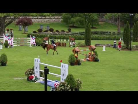 McLain Ward at Old Salem Farm Grand Prix - May12th 2013
