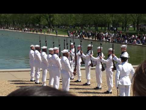 US NAVY CEREMONIAL GUARD - 2010 NAVY DRILL TEAM
