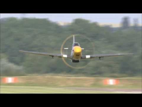 "P-51 Mustangs in the air - The P-51 Mustang Video - ""Sketches of Freedom"""
