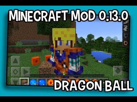 Mod Dragon Ball Para Minecraft Pocket Edition 0.13.1