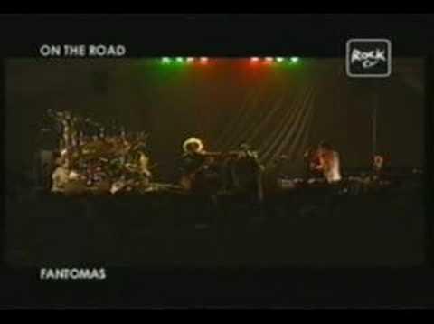 FANTOMAS in BERGAMO 06/28/05 part 1 - ROCK TV