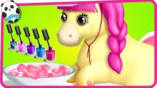 Fun Pet Horse Care & Makeover - Pony Sisters Hair Salon 2 - Dress Up Game for Kids and Children