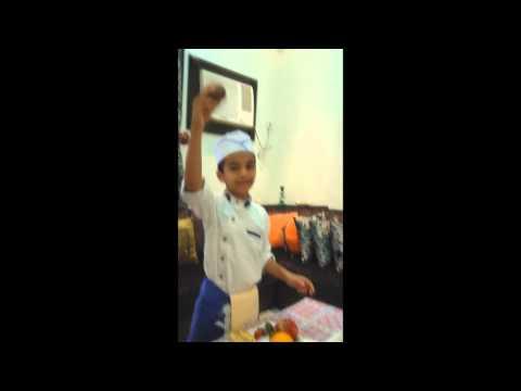 The little chef ( Mohammed Qasim )
