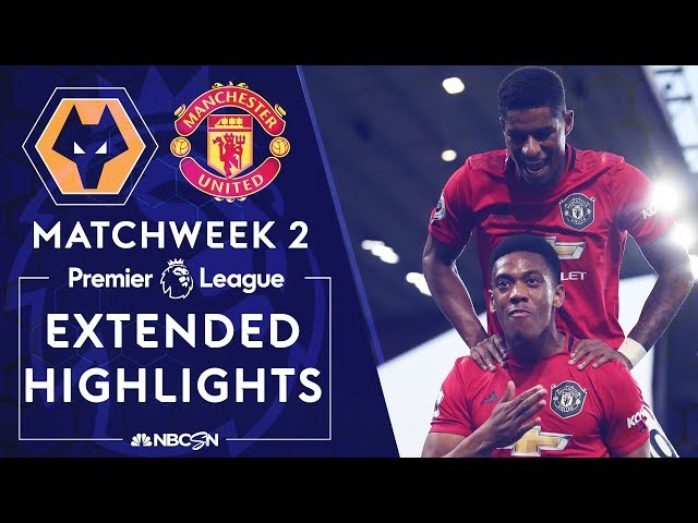 Wolves v. Manchester United | PREMIER LEAGUE HIGHLIGHTS | 8/19/19 | NBC Sports thumbnail