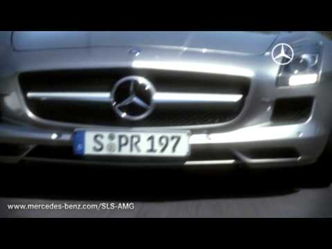 Mercedes-Benz.tv: The new SLS AMG - race test with Bernd Schneider Video