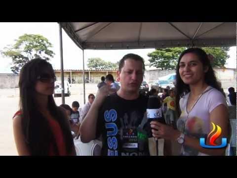 UMADEB 2012 - Dia 20-02 - Vanuzia com jovens da UMADEB - Roberto